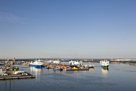 Germany, Rostock, View of harbour - MSF002600