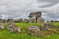 Ireland, Connacht, County Sligo, View of Carrowmore Megalithic Cemetery - SIEF002183