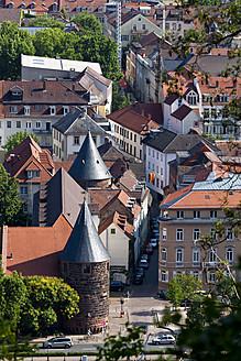 Germany, Baden Wuerttemberg, Heidelberg, View of old town - CSF015730