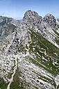 Germany, Bavaria, View of Nebelhorn Mountain - ANBF000046