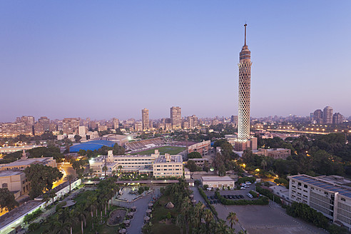 Egypt, Cairo, View of city - MSF002633