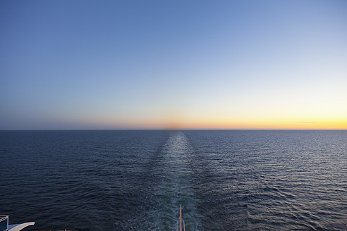 Baltic Sea, Cruise ship travelling between Russia and Finland - MSF002629