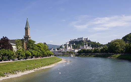 Austria, Salzburg, View of town - WWF002053