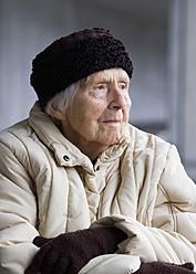 Austria,  Senior woman looking away, close up - WWF002038