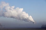 Germany, Bavaria, Grafenrheinfeld, View of cooling tower - SIEF002381
