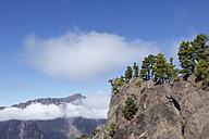 Spain, Canary Islands, La Palma, View of Caldera de Taburiente National Park - SIEF002427