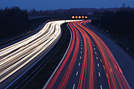 Europe, Germany, Bavaria, Munich, Rush hour at evening on highway - TCF002261