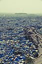 India, Rajasthan, Jodhpur, View of Blue City - MBEF000283
