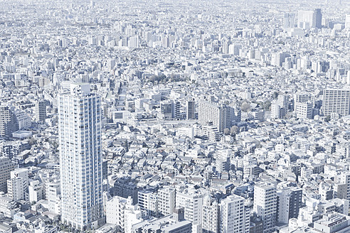 Japan, Tokyo, View of cityscape - FLF000023