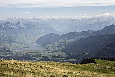 Switzerland, View of Rigi Kulm - DWF000156