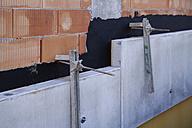 Germany, Bavaria, Construction of wall - TCF002449