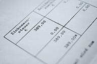 Germany, Tax form, close up - TCF002471