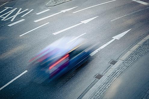 Germany, Bavaria, Munich, Traffic on road - LFF000461