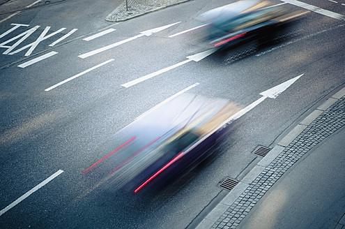 Germany, Bavaria, Munich, Traffic on road - LFF000462