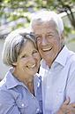 Germany, Bavaria, Senior couple smiling, portrait - TCF002588