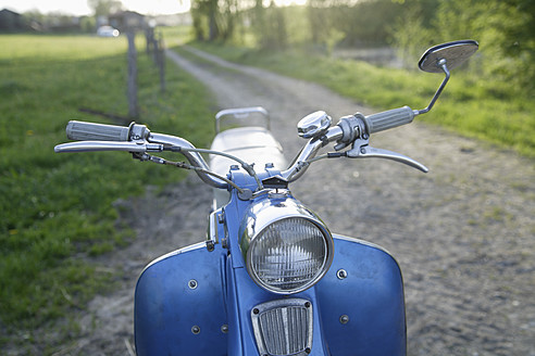 Germany, Bavaria, Old moped of 1960s - TCF002606