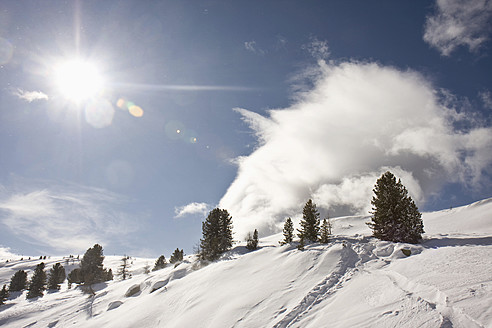 Austria, View of winter landscape - FLF000076