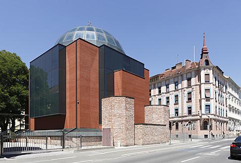 Austria, Styria, Graz, View of Synagogue at Grieskai Street - SIE002773