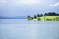 Germany, Bavaria, View of Tegernsee lake - MAEF004840