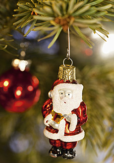 Christmas tree decorations with santa claus figurine - WBF001351