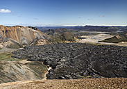 Iceland, View of Volcanic landscape - WBF001220