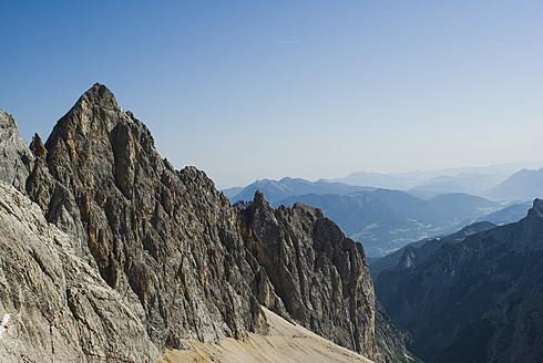 Germany, Bavaria, View of Zugspitze mountain - KAF000021