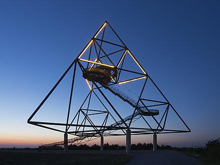 Germany, North Rhine Westphalia, Bottrop, Construction of tetraeder - HHE000012