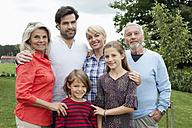 Germany, Bavaria, Nuremberg, Portrait of family - RBYF000120