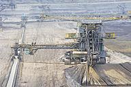 Germany, Saxony, Schleenhain, View of brown coal mining - MJ000128