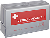 First aid kit on white background, close up - WBF001687