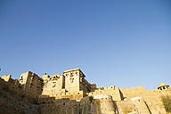 India, Rajasthan, Jaisalmar, View of Jaisalmar Fort - MBEF000513