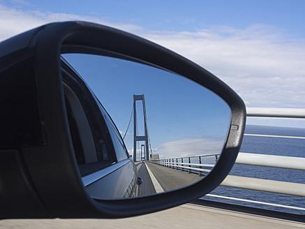 Denmark, View of Great Belt Bridge - HHEF000018