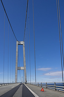 Denmark, View of Great Belt Bridge - HHEF000016