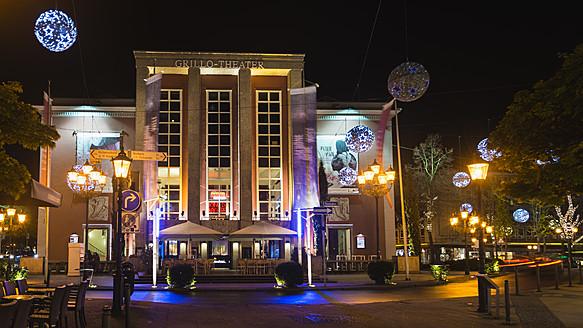 Germany, North Rhine Westphalia, Essen, View of Grillo Theater - HHE000032