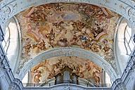 Austria, Upper Austria, Ceiling frescos of Parish Church and St George - SIE003023