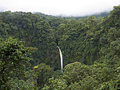 Central America, Costa Rica, View of La Catarata de la Fortuna - BSC000184