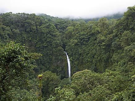 Central America, Costa Rica, View of La Catarata de la Fortuna - BSC000184