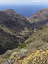 Europe, Spain, La Gomera, View of Valle Gran Rey - SIEF003036