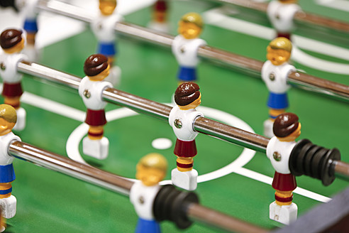 Close up of table soccer game - MAEF005262