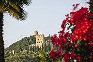 Italy, View of castle - MIRF000510