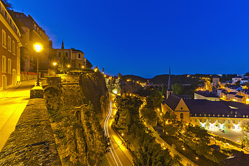 Luxembourg, View of Neumunster Abbey - WDF001449