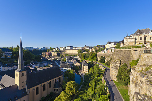 Luxembourg, View of Neumunster Abbey - WDF001399