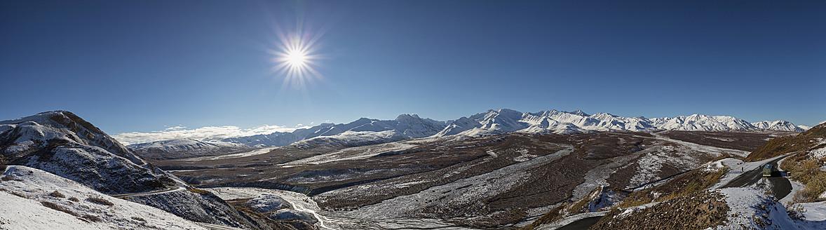 USA, Alaska, View of Alaska Range at Denali National Park - FOF004479