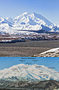 USA, Alaska, View from Eielson Visitor Center at Denali National Park - FO004499
