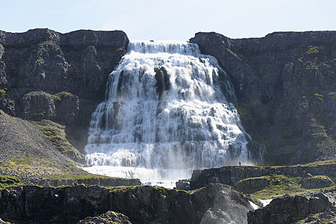 Dynjandi Waterfall at Iceland - HL000015