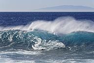 Spain, Breaking of waves at La Gomera - SIEF003099