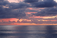 Spain, Clouds in evening light at La Gomera - SIEF003110