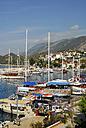 Turkey, Antalya, Sailing boats in harbour of Kas - MIZ000067