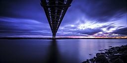 UK, Scotland, View of Forth Bridge - SMA000103