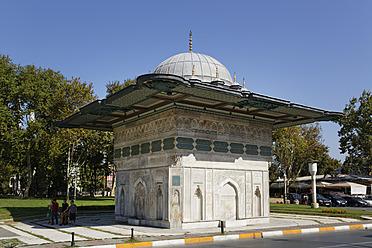 Turkey, Istanbul, View of Tophane Cesmesi at Karakoy - SIE003276